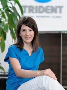 Doctor Cristina Salgau - medic dentist la Clinica Trident in Bucuresti